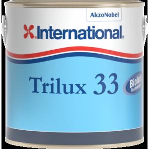 Trilux 33, l'antifouling visiblement performant