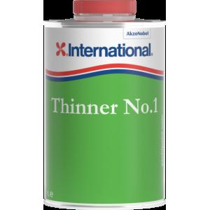 Thinner N°1 : diluant pour peintures et vernis monocomposants